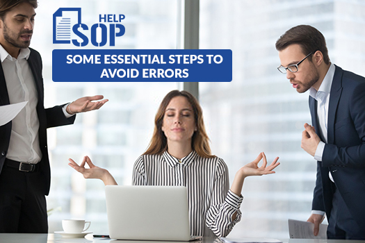 Some Essential Steps to Avoid Errors in Statement of Purpose